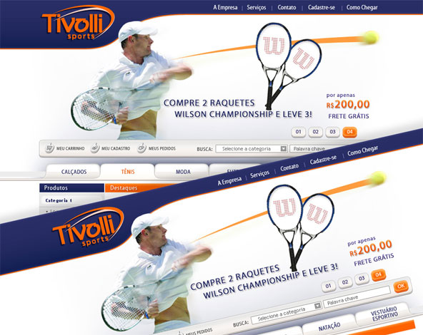 Tivolli Sports - E-Commerce 010b4d7012